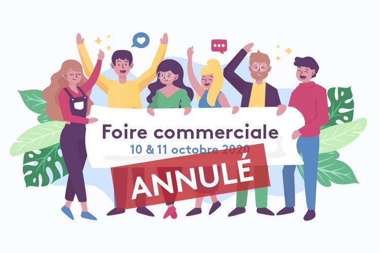 Annulation de la Foire Commerciale 2020